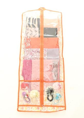 Orange color Storage . RADYSA Hijab Simple Rack Organizer ( HSR ) -