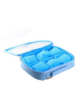 Light Blue color Storage . RADYSA Watch Case Organizer / Tempat Penyimpanan Jam Aksesoris ( WCO ) -