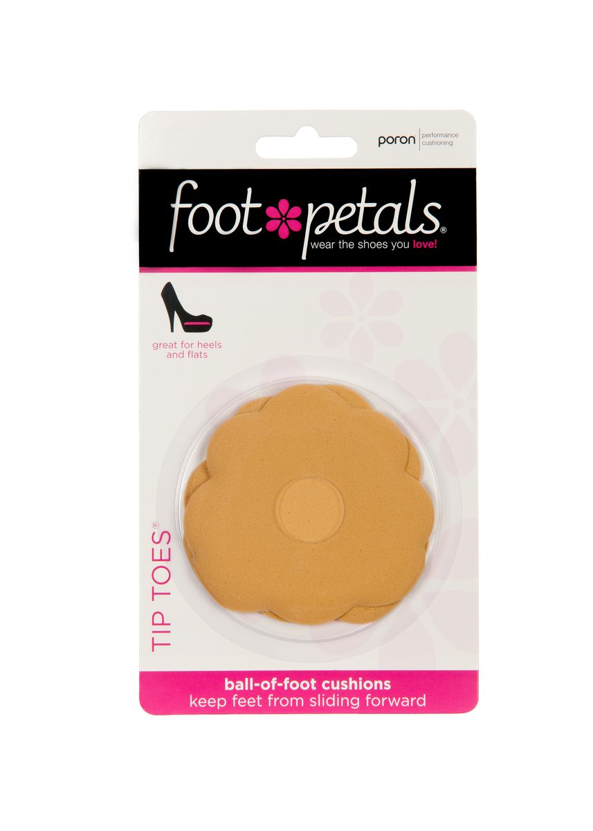 No Color color Inserts . Foot Petals Tip Toes (Buttercup) -