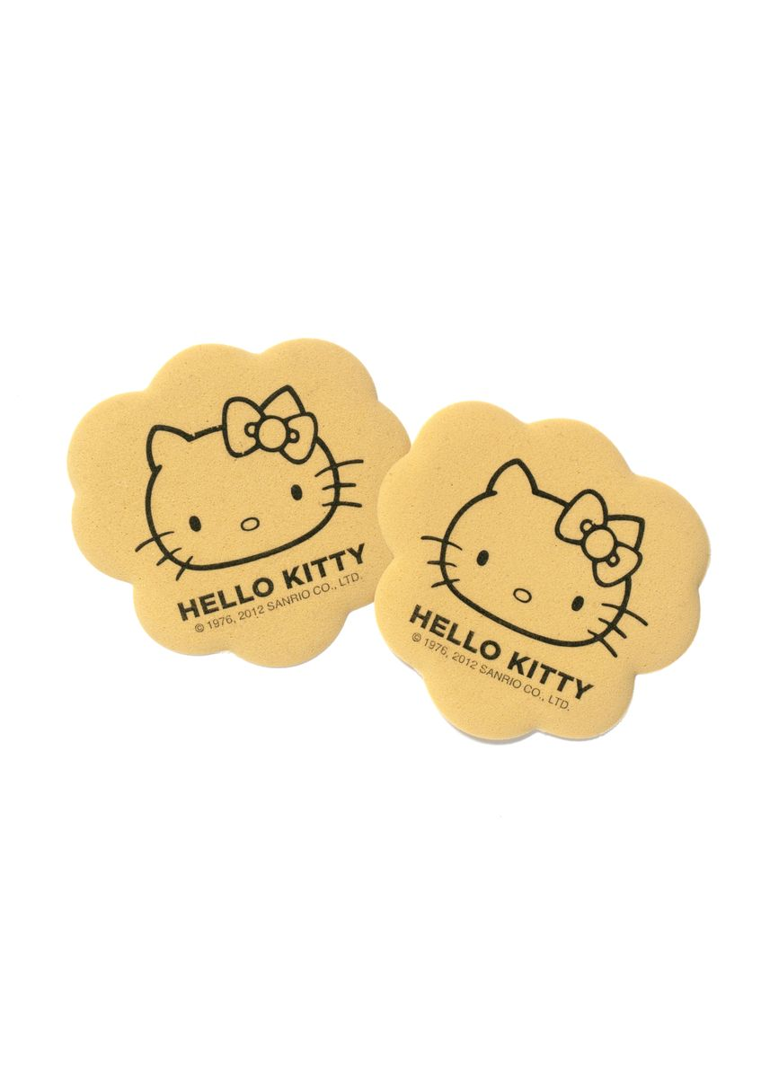 No Color color Inserts . Hello Kitty x Foot Petals Tip Toes (Beige) -