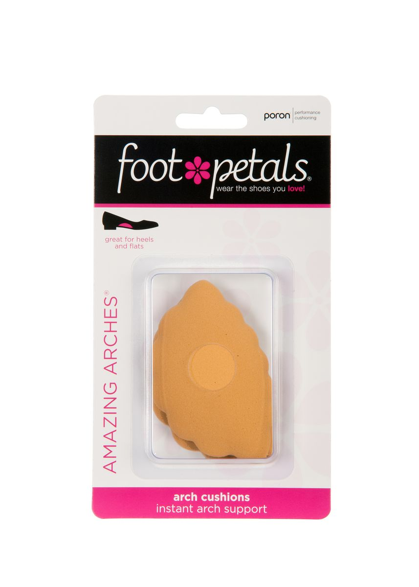 No Color color Inserts . Foot Petals Amazing Arches (Buttercup) -