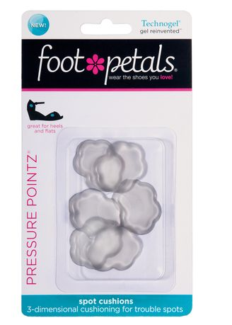 No Color color Inserts . Foot Petals Technogel Pressure Pointz -
