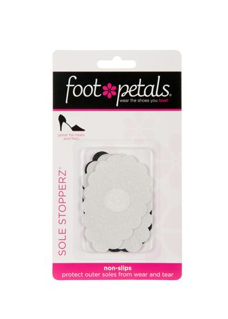 No Color color Inserts . Foot Petals Sole Stopperz - Clear and Black -