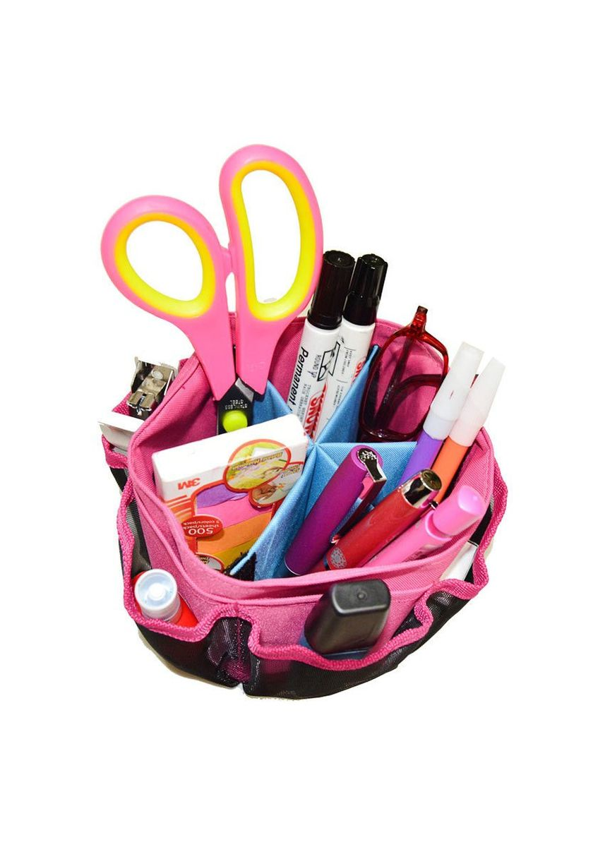 Pink color Storage . Radysa Table Multifunction Organizer FREE Pouch Kosmetik -