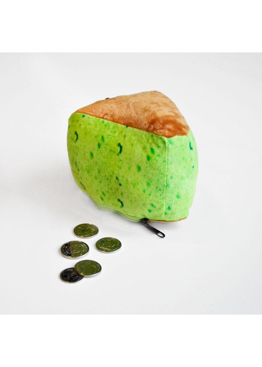 Green color Wallets and Clutches . Meykrs Pandan Cake Coin Pouch -