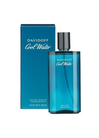 No Color color Fragrances . Davidoff Cool Water For Men EDT (125 ml.) พร้อมกล่อง -