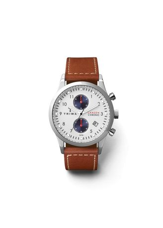 Triwa Duke Lansen Chrono Brown leather Watch  6f75a48ce1
