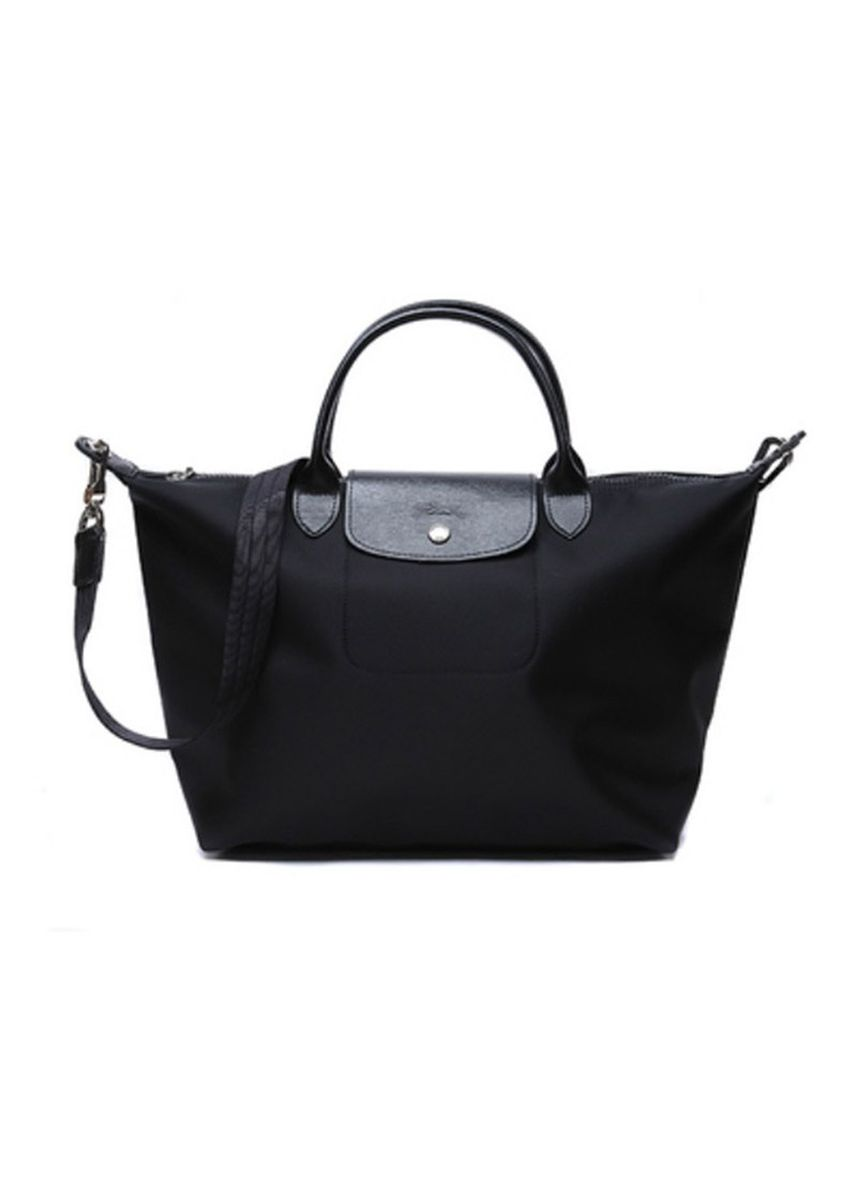 Black color Hand Bags . Long Champ Neo 1512 Small -
