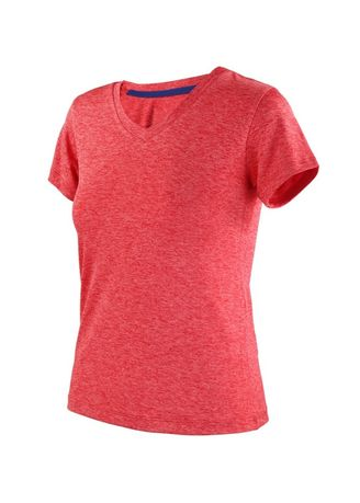 Red color Tees & Shirts . Ionicwear Ladies Athletic Tops -