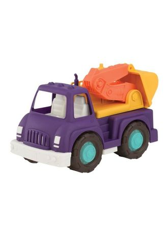 Purple color Toys . Wonder Wheels by Battat - Excavator Truck -