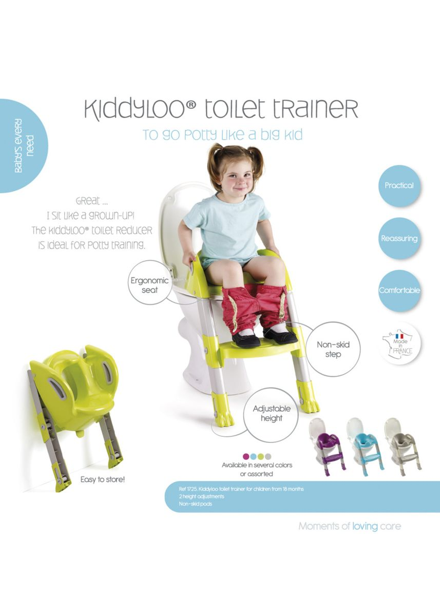 Olive color Others . Thermobaby - Kiddyloo Toilet Trainer -