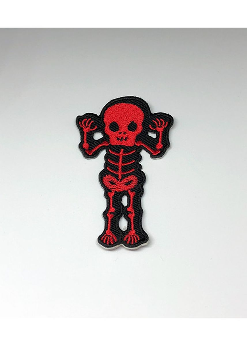 Multi color Other . Stormvolkn Embroidery Patches Skeleton - C -