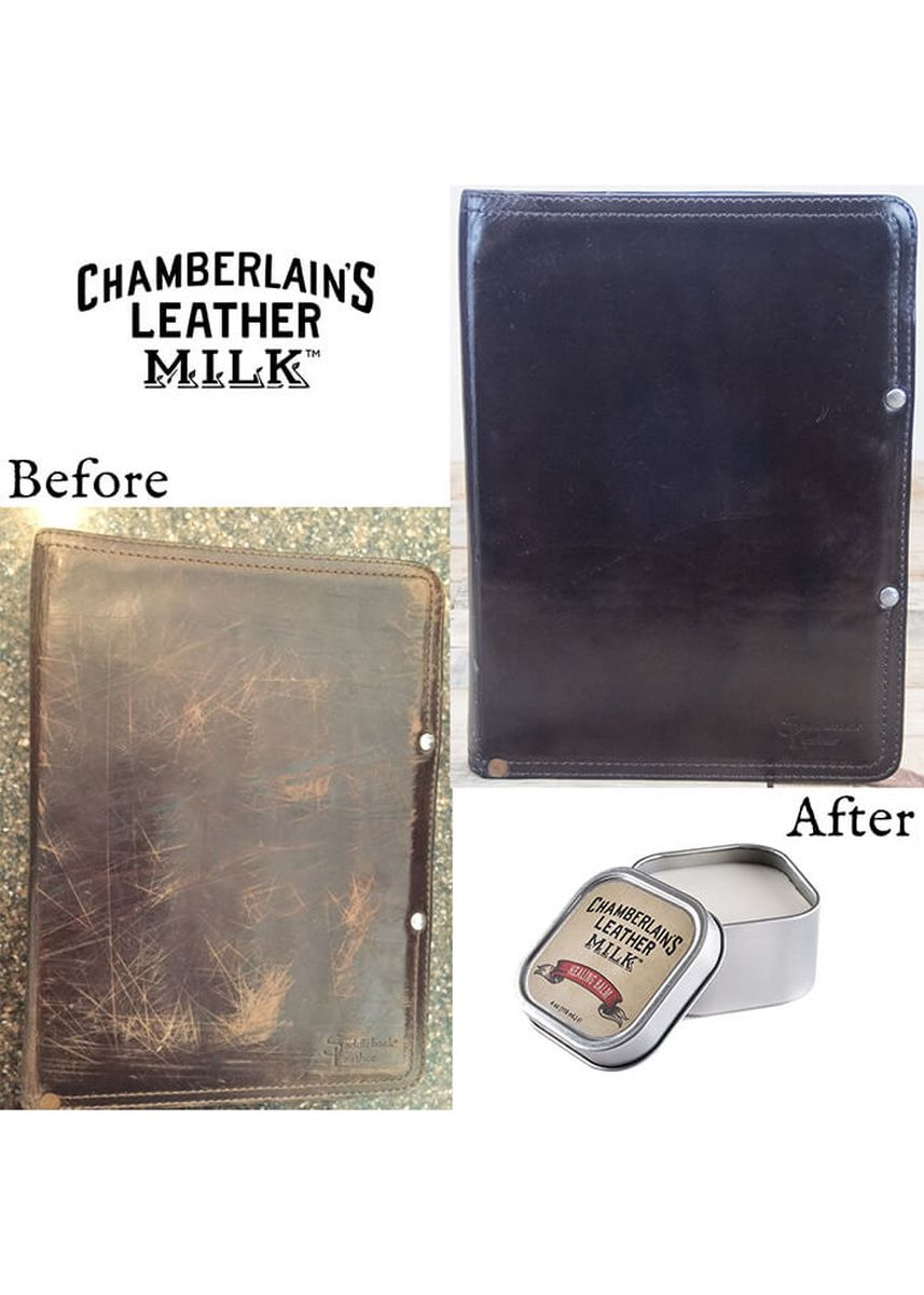 No Color color Polishes & Cleaners . Chamberlains Leather Milk Healing Balm -
