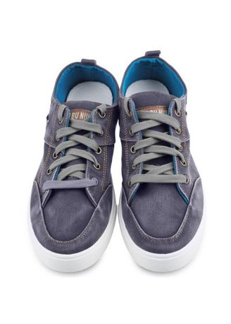 Purple color Casual Shoes . Casual Outdoor Male Solid Lace Up Denim Canvas Shoes -