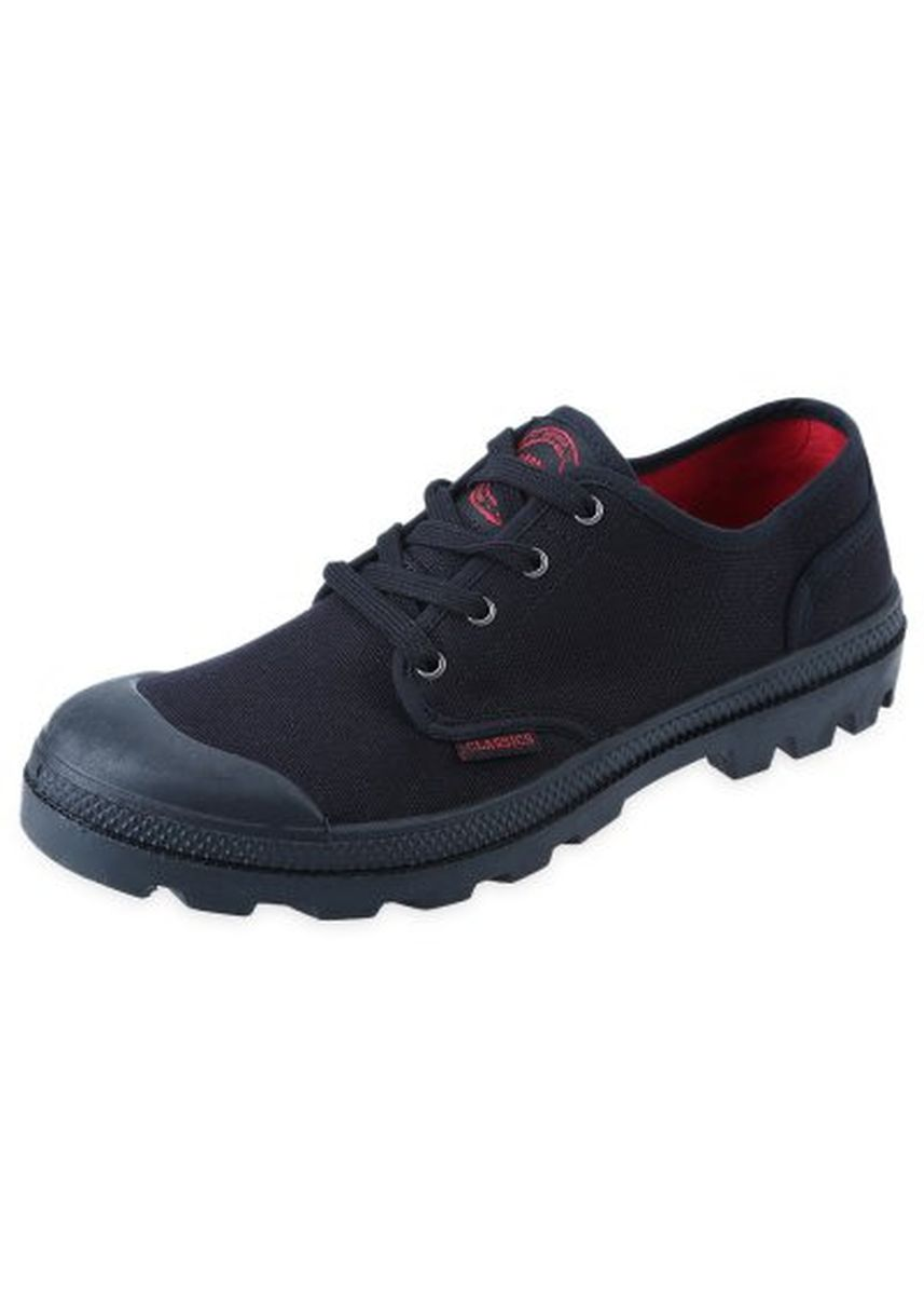 Black color Casual Shoes . Stylish Lace Up Round Toe Skid Resistance Canvas Battlefield Shoes for Male -