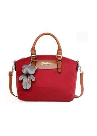 Red color Hand Bags . Omax Casual Hand Bag -