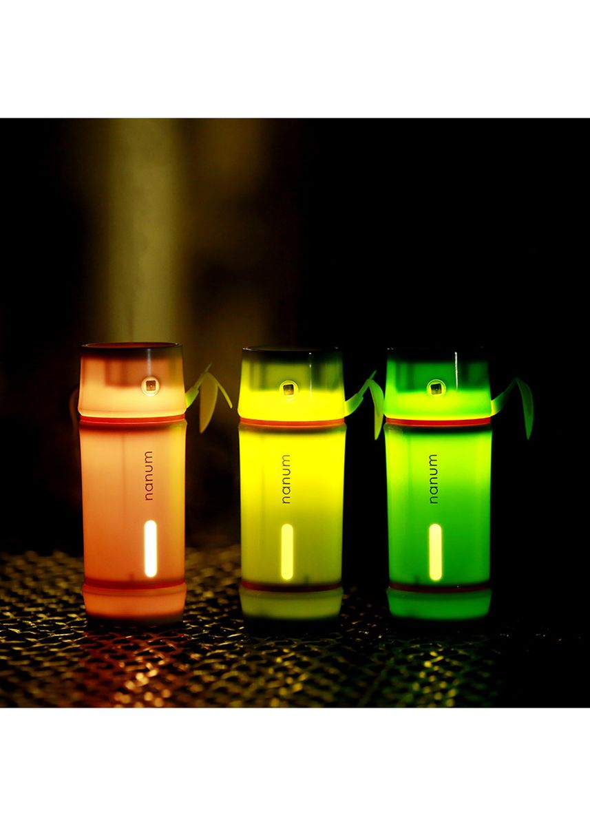 Multi color Home Fragrances . Nanum USB Bamboo Shape 7 Colors LED Light Lamp Car Air Humidifier Aroma Diffuser - 130ml -