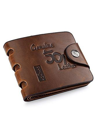 Wallets . Hollow-out Leather Slim Bifold Credit Card Holder Wallet -