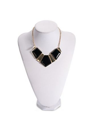 . Women Stylish Candy Color Spliced Necklace -