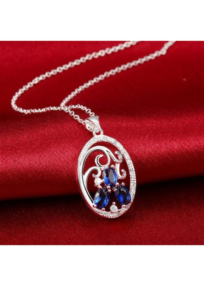 Silver color  . N109-A 925 Silver Plated Necklace Brand New Design Pendant Necklaces Jewelry for Women -