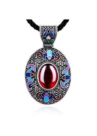 Multi color  . N016-B National Style Necklace for Women -