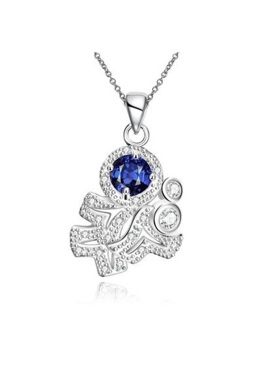 Silver color  . N121-A 925 Silver Plated Necklace Brand New Design Pendant Necklaces Jewelry for Women -
