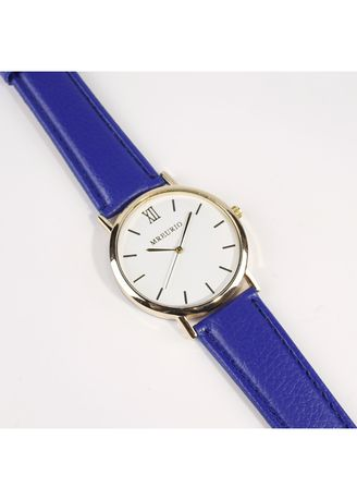 สีกรม color โคโนกราฟ . Simple couple models Roman pattern watch -