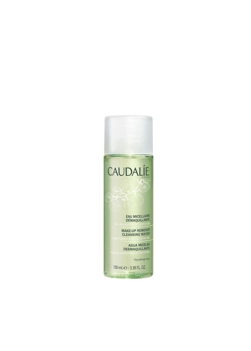 No Color color Face . CAUDALIE Mini Make Up Remover Cleansing Water 100ml -