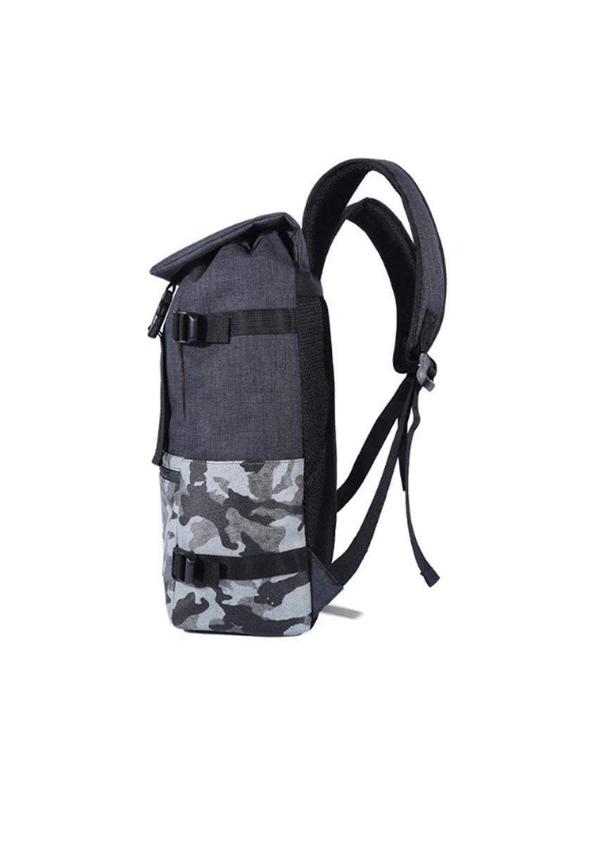 Black color Backpacks . Camo Minimalist Drawstring Backpack -