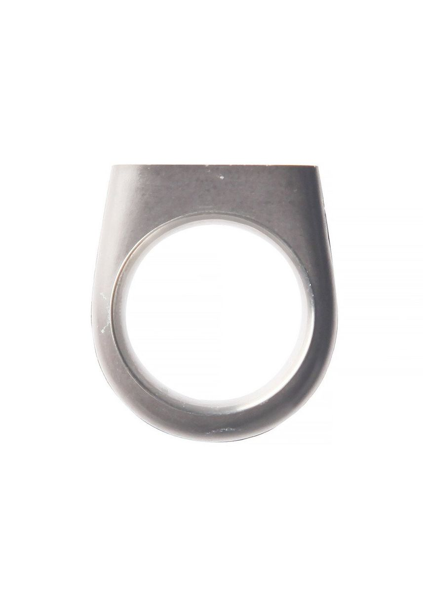 Silver color Rings . 22 Design Upright Ring - Size 7 -