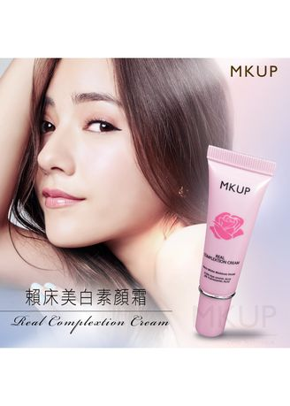 No Color color Whitening & Brightening . MKUP® Real Complexion Cream - 10ml -