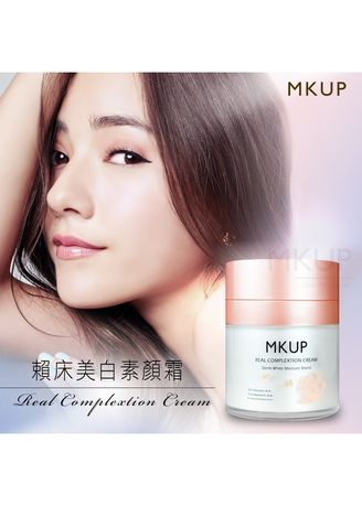No Color color Whitening & Brightening . MKUP® Real Complexion Cream - 30ml -