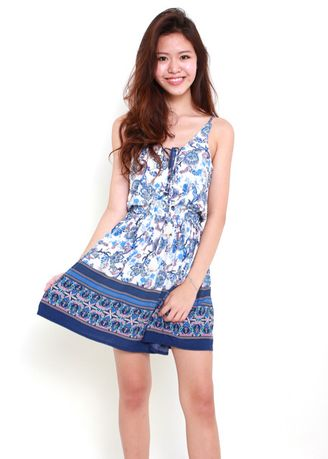 Dresses . Andie Paisley Sun Dress -