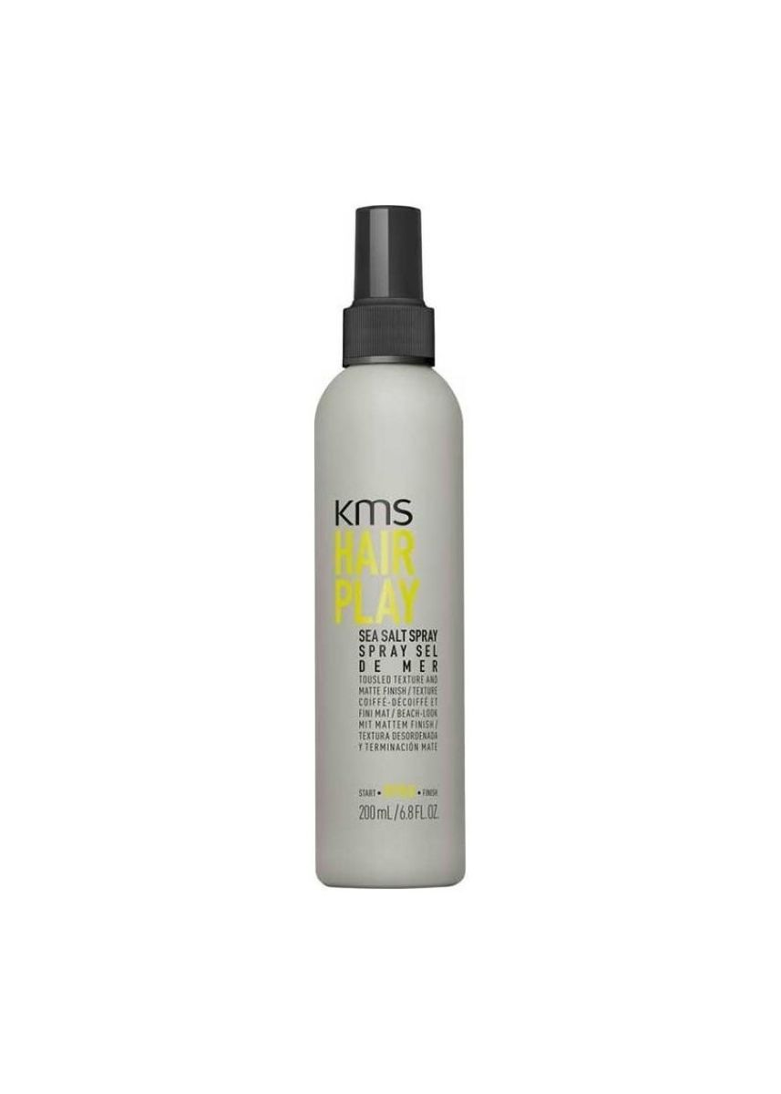 No Color color Styling . KMS Hair Play Sea Salt Spray 200ml -