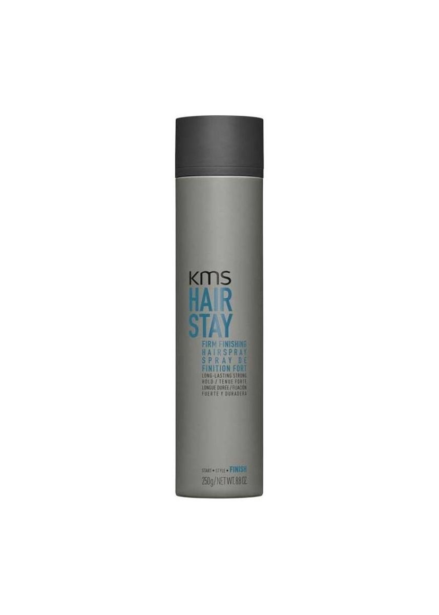 No Color color Styling . KMS Hair Stay Firm Finishing Spray 300ml -