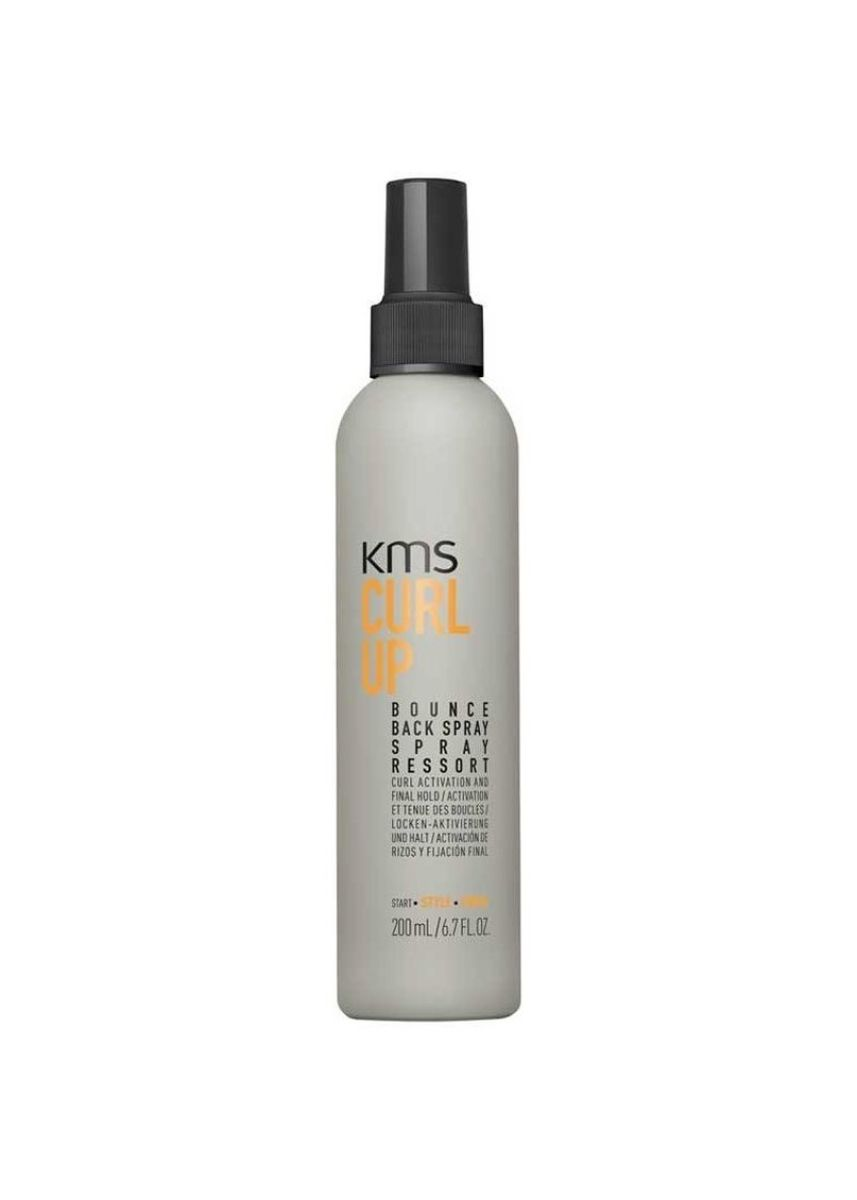 No Color color Styling . KMS CurlUp Bounce Back Spray 200ml -