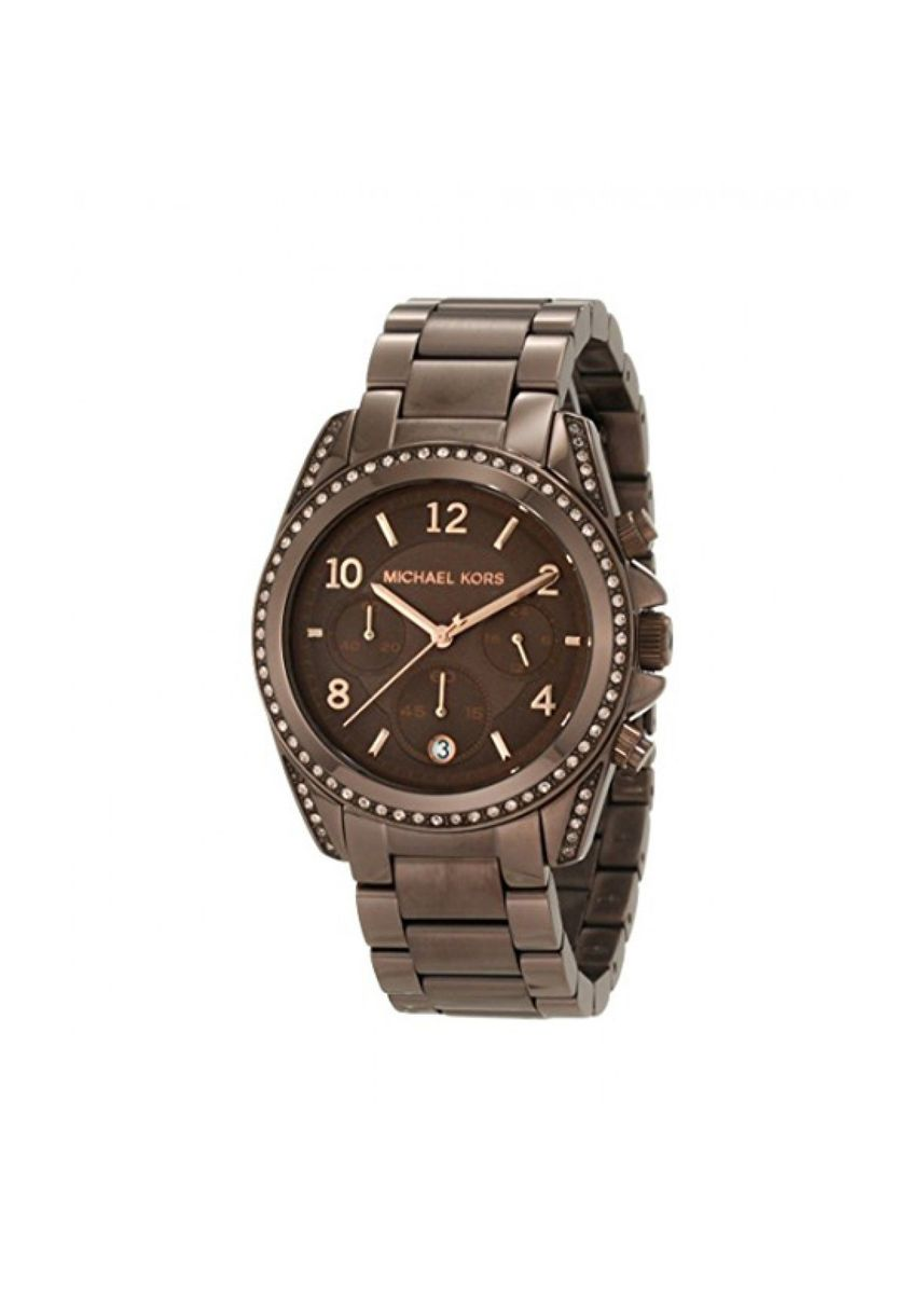 น้ำตาล color อนาล็อก . MICHAEL KORS WOMEN'S MK5493 BLAIR BRONZE TONE  -