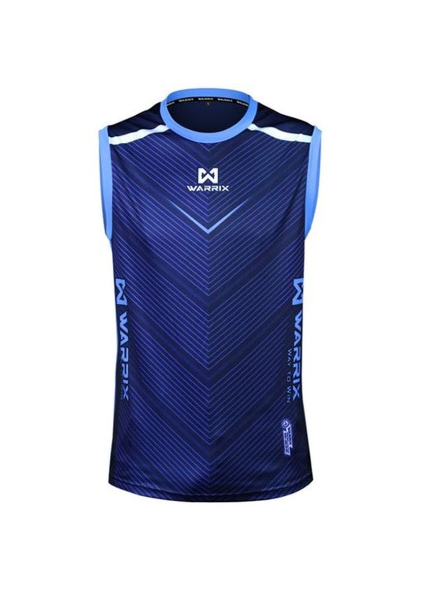 Blue color Sports Wear . WARRIX Jersey WA-1602 VICTORINO -