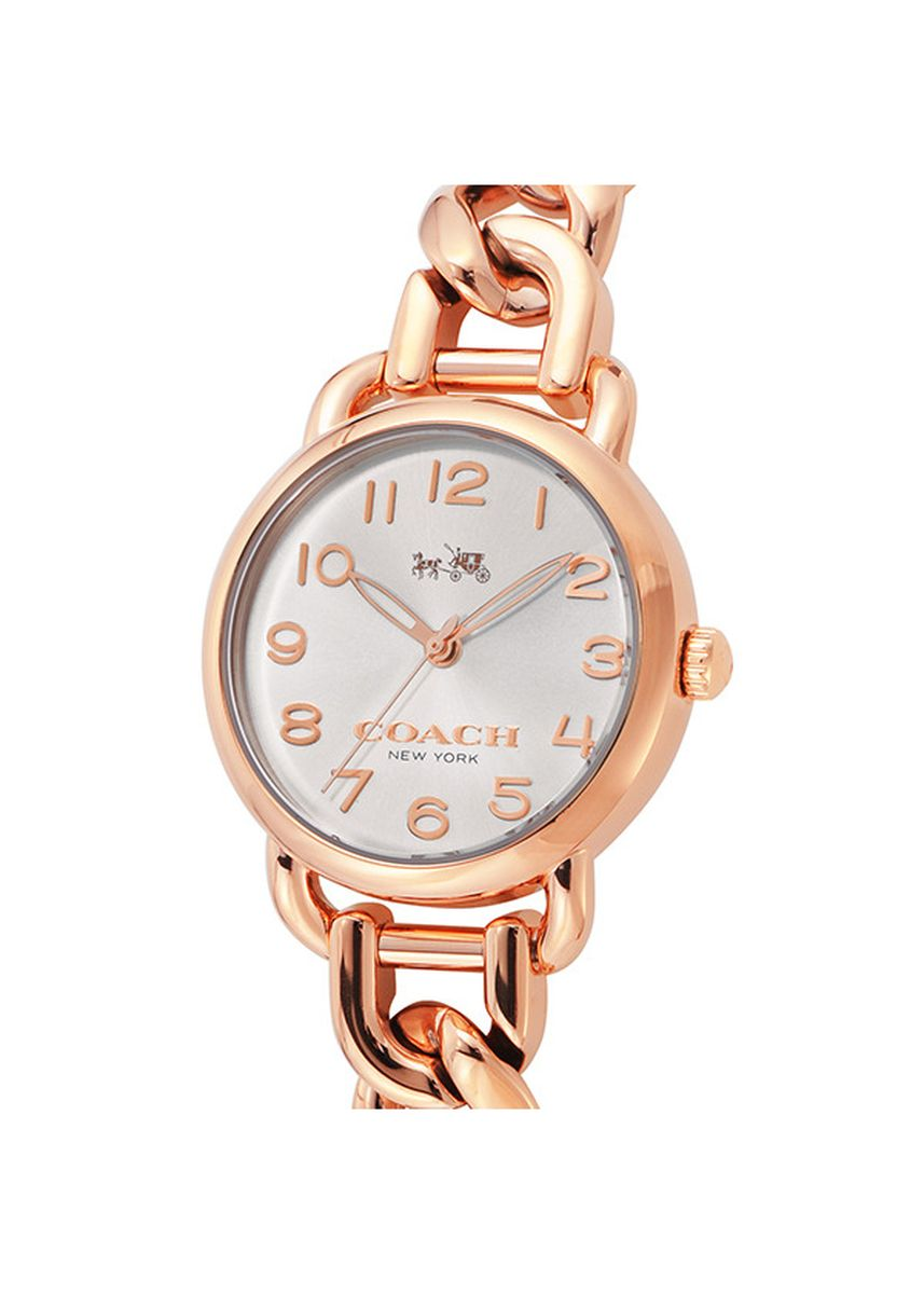 Gold color Analog . Coach Ladies Analog Casual Quartz Watch 14502255 -