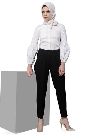 Black color Trousers . NAJA NAJA BLACK  PANTS  C-08 -