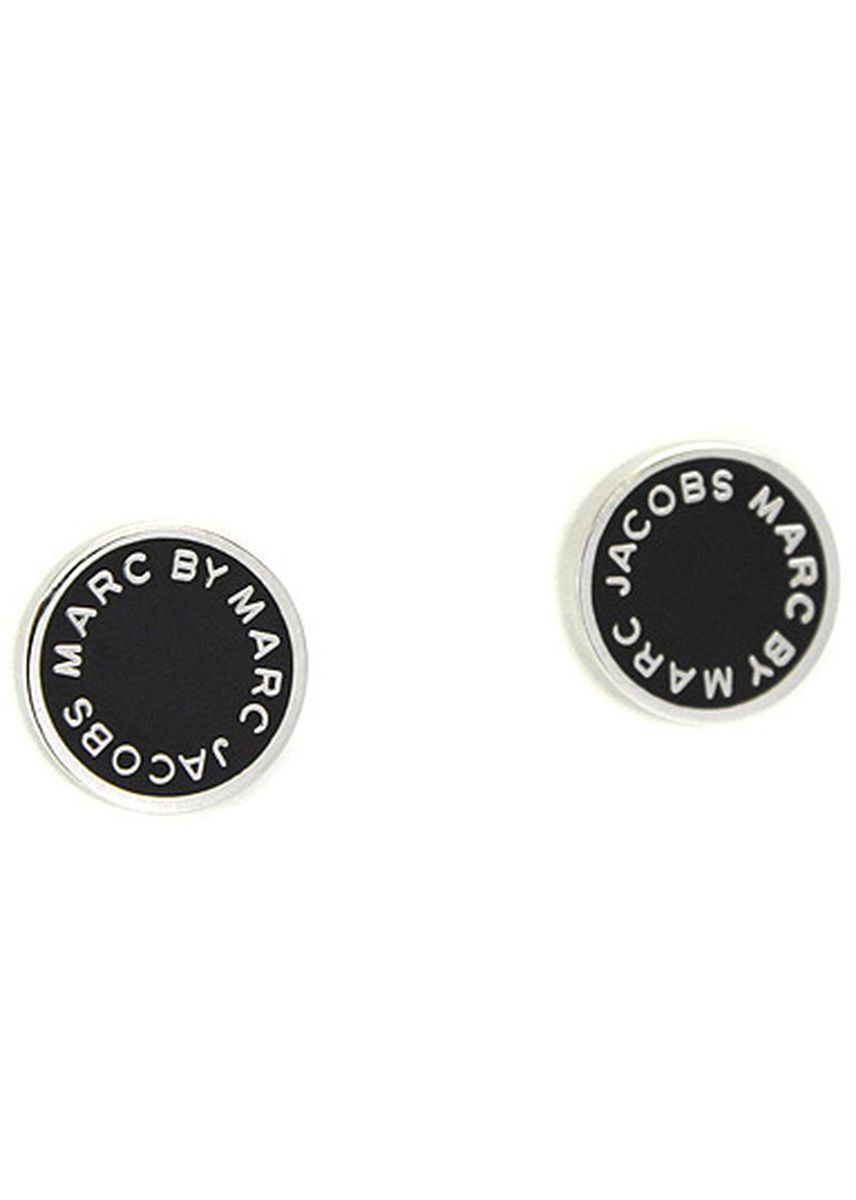 Silver color Other . Marc By Marc Jacobs Enamel Logo Disc Stud Earrings -