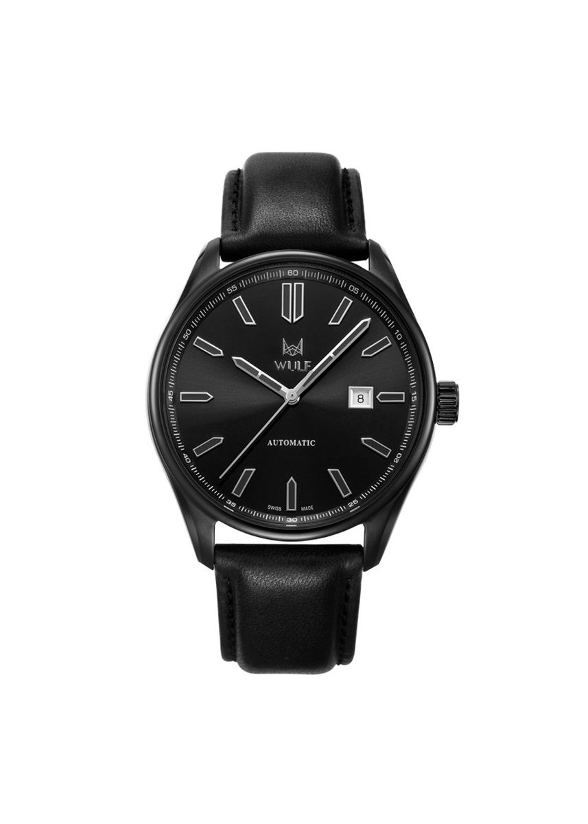 Black color Analog . Wulf Alpha Watch -