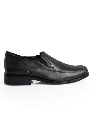 Hitam color Sepatu Formal . GINO MARIANI DASH 3 Exclusive Cow Leather Formal Men's Shoes -