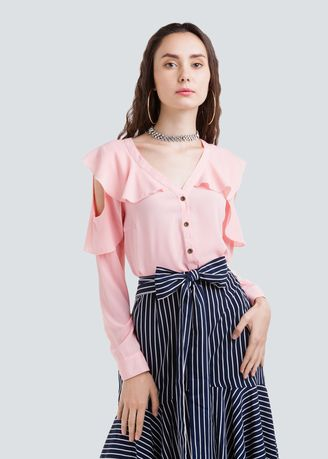 Button front casual shirt d73f825faa