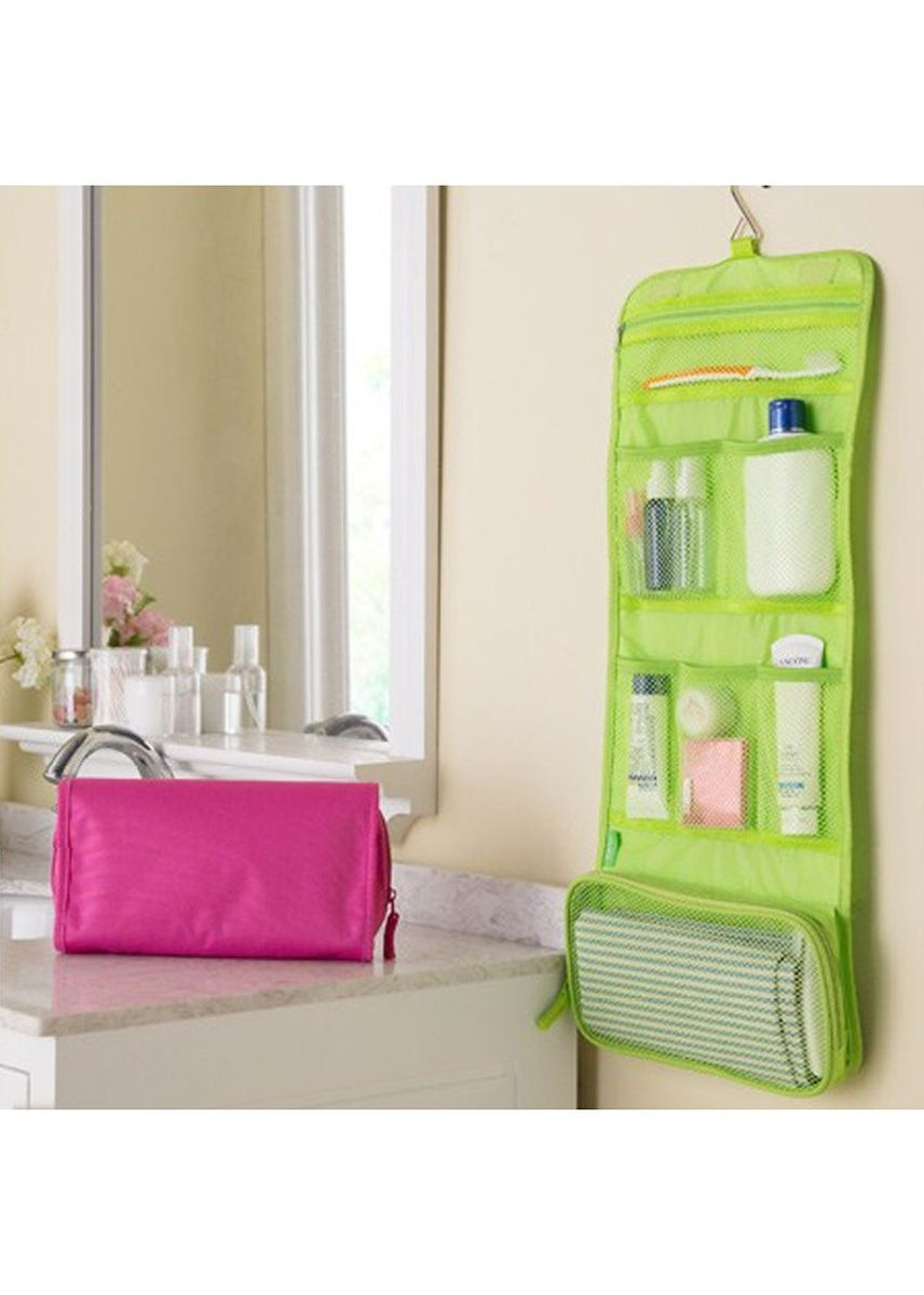 Green color Travel Wallets & Organizers . Water Proof Travel Bag -