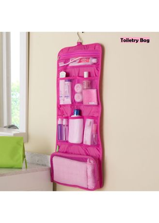 Pink color Travel Wallets & Organizers . Water Proof Travel Bag -