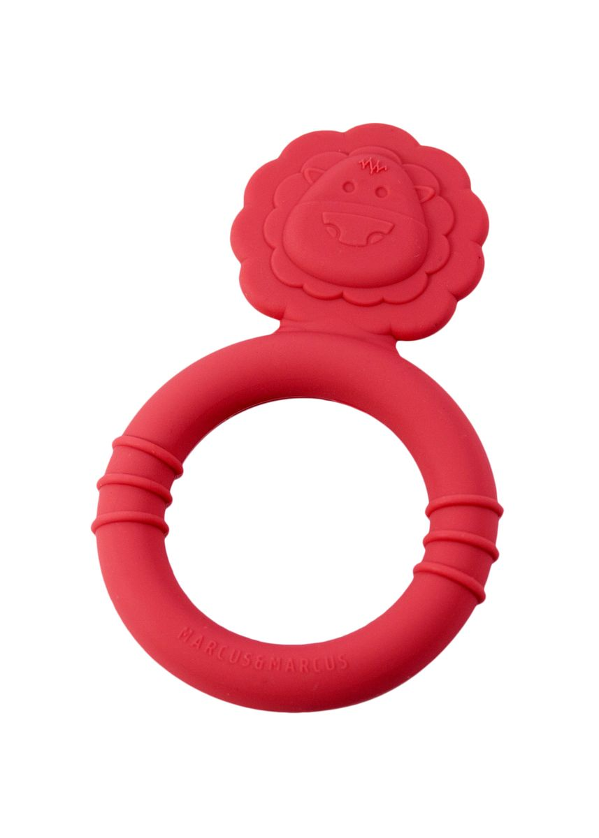Red color Others . Marcus & Marcus Teether - Lion -