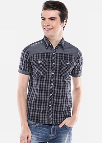 Casual Shirts . SLIM FIT - CASUAL ACTIVE - ASH.670.G880.564.C S/S -