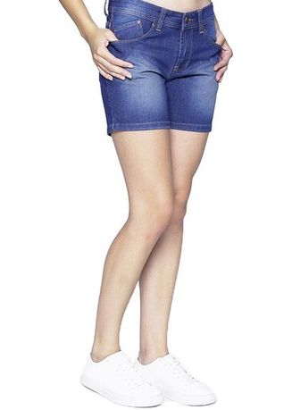 Biru Laut (Sian) color Celana Pendek . 2Nd RED Celana Pendek Jeans Hot Pants Denim Biru 261612A -