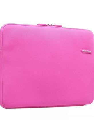 Hand Bags . Original GEARMAX PREMIUM GM1701 15.4 Inch Classic Lycra Fabric Laptop Sleeve Case Bag for Notebook - Tablet - Macbook - Surface - iPad - Pink -